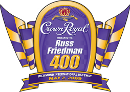 Crown Royal 400 logo