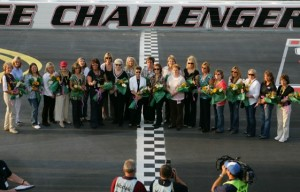 The moms of race-car drivers have gathered at Darlington Raceway in recent years. There, they are honored and thanked.
