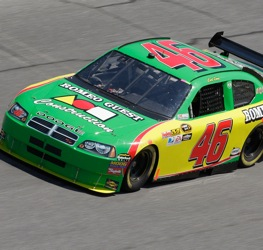 Carl Long's driving career may be over in NASCAR. (Photo by John Harrelson/Getty Images for NASCAR)