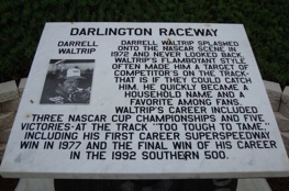 Waltrip drives on at Darlington.
