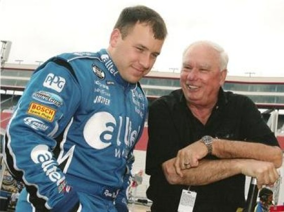 Driver Ryan Newman and his former boss, Don Miller.