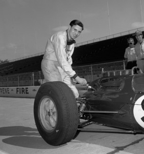 The legendary Jim Clark and the Lotus. (Photo special to RacinToday by Mary Ellen Loscar, IMS Photo Operations)