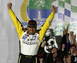 Matt Crafton is on the pole at MIS. (RacinToday file photo)