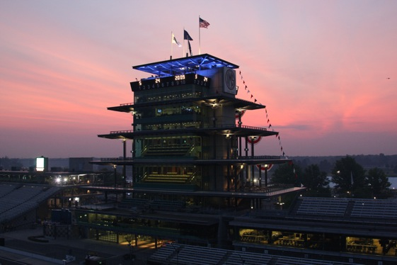 The Pagoda has long been a symbol of the greatest race track in the world. (Photo Courtesy IndyCar)