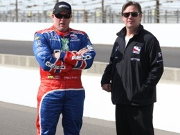 Paul Tracy and his team owner, Jimmy Vasser have a lot to race for on Sunday.