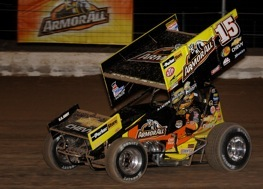 Driving for Tony Stewart can be a dirty business, says Donny Schatz.