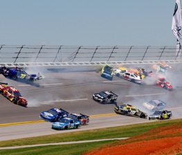 Larry Woody says this isn't a wreck, it's a magnet. (Photo by John Harrelson/Getty Images)