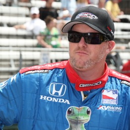 Paul Tracy to race at The Glen. (IndyCar Series photo by Chris Jones)