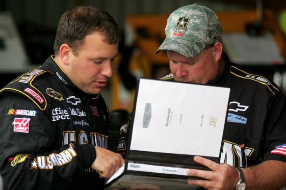 The book on Ryan Newman is that he is a heck of a road racer, especially at Infineon Raceway.  (Photo by Todd Warshaw/Getty Images)