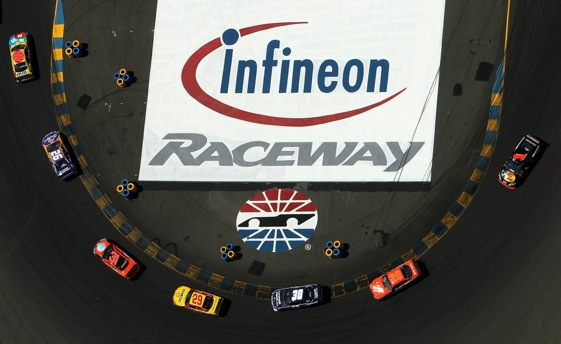 Some hate NASCAR road races, some love them.  (Photo by Jonathan Ferrey/Getty Images )