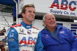 The Foyts will be together at Texas. (IndyCar Series photo by Chris Jones)