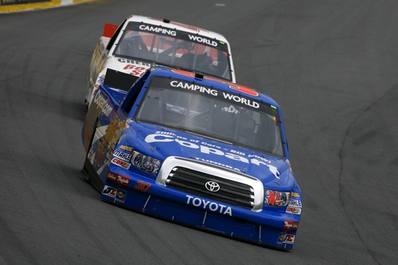 Todd Bodine may be the next former Camping World champ to park his ride. (RacinToday photo by David Vaughn)