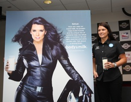 Danica Patrick will be alone in NASCAR infields when it comes to cool photos. (File photo courtesy IndyCar Series)