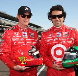 Scott Dixon and Dario Franchitti dominated at Richmond Saturday night.