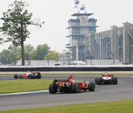 Have Bernie Ecclestone and the F1 boys actually done something right? (Indianapolis Motor Speedway photo by Ron McQueeney)