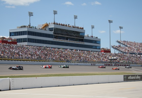 Filling the grandstands has not been a problem for Rusty Wallace and Iowa Speedway.