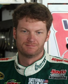 Dale Earnhardt Jr. now has somebody to talk to. (Photo by Nick Laham/Getty Images)