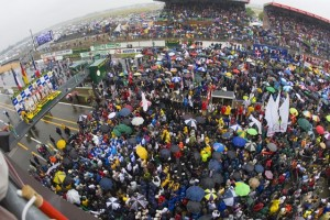 The post-race ceremonies at Le Mans are not to be forgotten by those who have been there. People like Colin Braun.