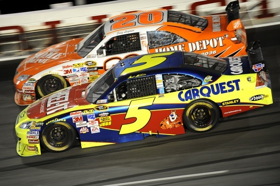 Does Mark Martin have five more points today than he should? (Photo by John Harrelson/Getty Images)