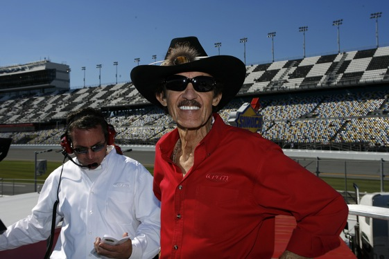 Richard Petty and Robbie Loomis have Richard Petty Racing back in Victory Lane. (RacinToday photo by David Vaughn)
