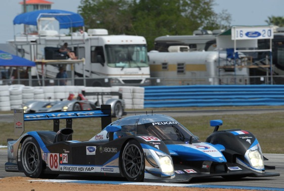 Peugeot's participation in Intercontinental Cup is unknown. (File photo courtesy of American Le Mans Series)