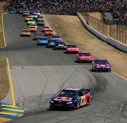 Big, heavy cars take to the track at Infineon Raceway. (Photo by Robert Laberge/Getty Images)