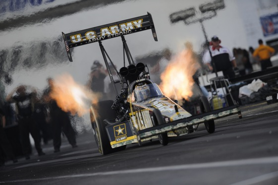 Tony Schumacher could be headed for a sixth-straight Top Fuel championship.