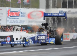 Spencer Massey, rookie Top Fuel driver.