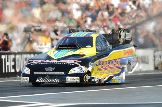 Tony Pedregon looked good early, but was eventually defeated by Tim Wilkerson in the final round at Seattle (NHRA Photo)