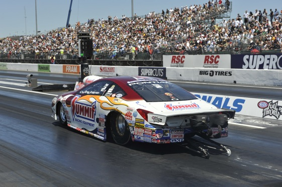 Greg Anderson had a big day at Sonoma (NHRA photo)