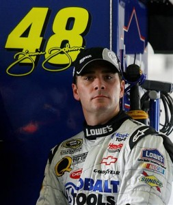 Jimmie Johnson (NASCAR File Photo)