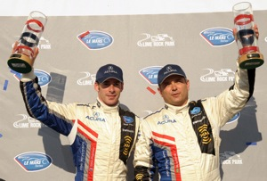 Pagenaud and de Ferran at Lime Rock (American Le Mans Photo)