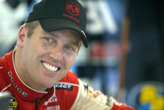 Jeremy Mayfield is topic No. 1 in the garages at Daytona this week.  (File photo by Todd Warshaw/Getty Images)
