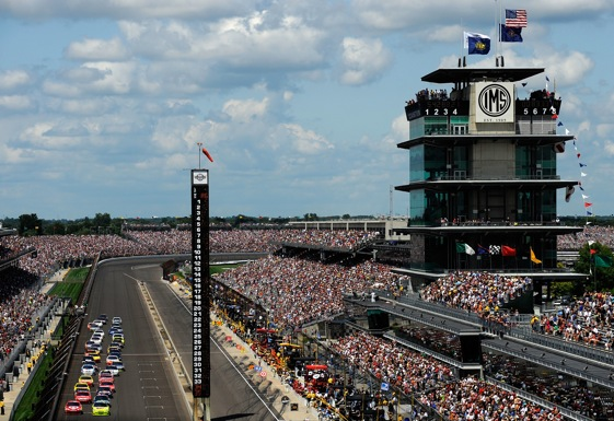 The Allstate 400 at the Brickyard has produced a lot of beautiful moments. And, some rather ugly ones. (Photo by Rusty Jarrett/Getty Images for NASCAR)