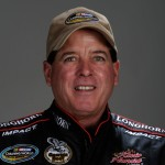 Ron Hornaday had a run-in, literally, with his boss on Saturday. (Photo by Sam Greenwood/Getty Images)