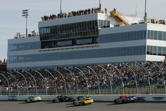 The grandstands at Iowa Speedway will be filled this weekend for the Nationwide Series race and that has made Rusty Wallace talk more than usual.  (Photo by Jonathan Daniel/Getty Images for NASCAR)