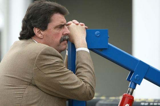 NASCAR president Mike Helton. (Photo by Jonathan Ferrey/Getty Images)