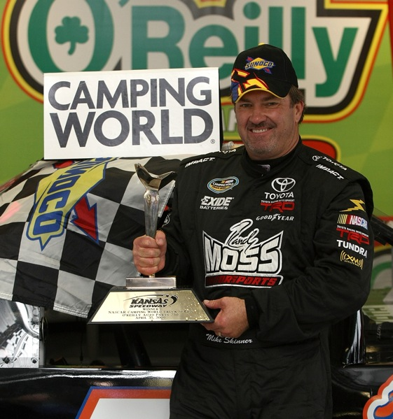 Mike Skinner says times are tough but not fatal for the Camping World Truck Series.