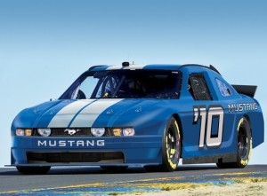 The Ford Mustang will compete in the Nationwide Series next year.