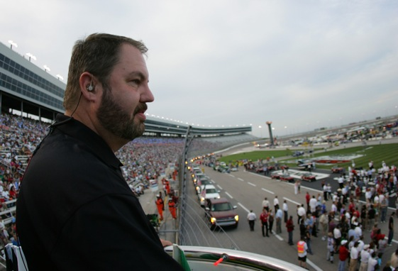 Texas Motor Speedway president and promoter's promoter Eddie Gossage is on the mend. (Photo by Chris Trotman/Getty Images)