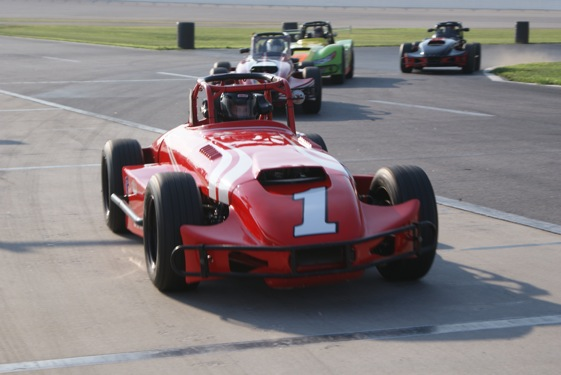 Beau Slocumb hits the track at Atlanta Motor Speedway. (Photo special to RacinToday)