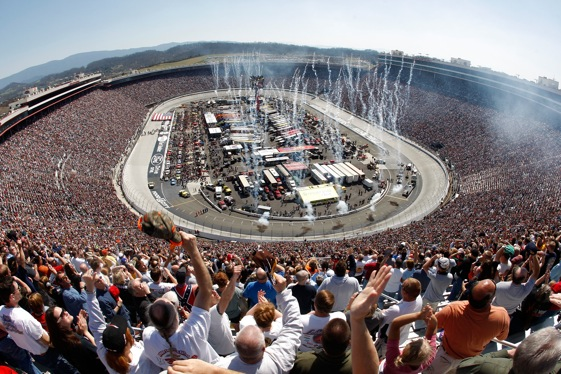 Will there be fireworks at Bristol after the green flag drops this weekend? (Photo by Chris Graythen/Getty Images)