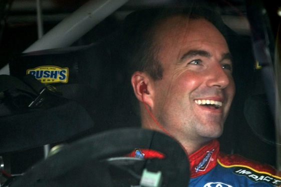 Marcos Ambrose captured the pole for Sunday's Nationwide race in Montreal. (Photo by Elsa/Getty Images)