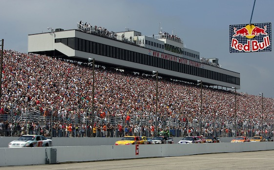 New Hampshire Motor Speedway has become a driver favorite.  (Photo by Jim McIsaac/Getty Images)