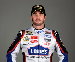 Jimmie Johnson fastest at Dover. (Photo courtesy of NASCAR)
