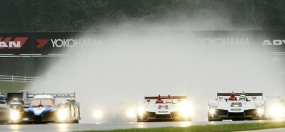 The Petit Le Mans race near Atlanta was more petit than hoped for on Saturday but was still quite entertaining. (Photo courtesy of the ALMS)