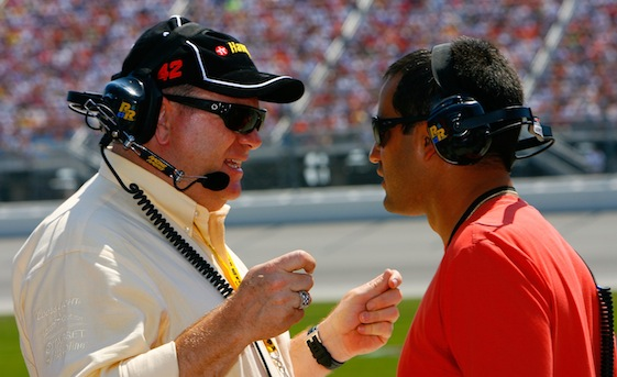 The pairing of Chip Ganassi and Juan Pablo Montoya is in contention for a championship. (Photo courtesy of NASCAR)
