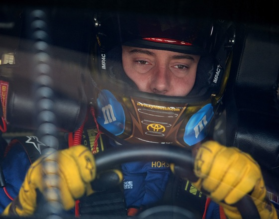 Kyle Busch needs a big finish this weekend in Richmond. (Photo by Nick Laham/Getty Images)