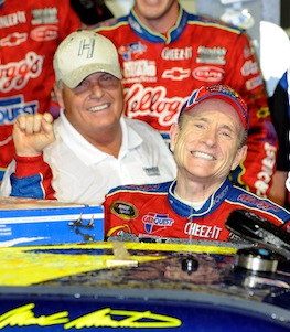 Mark Martin is just one of the veteran drivers who have put Hendrick Motorsports solidly in the Chase.