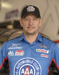 Robert Hight was Funny Car winner at Bandimere on Sunday. (Photo courtesy of the NHRA Full Throttle Racing Series)